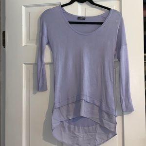 Express purple blouse